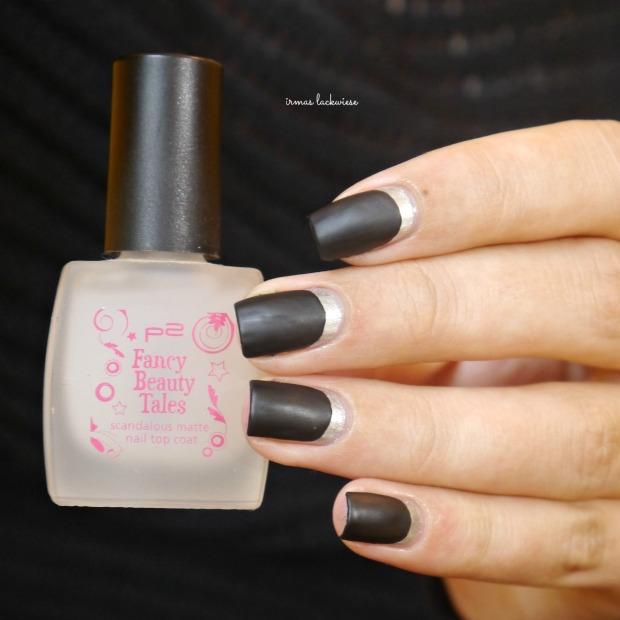 opi my silk tie + black & silver ruffian nails (10)