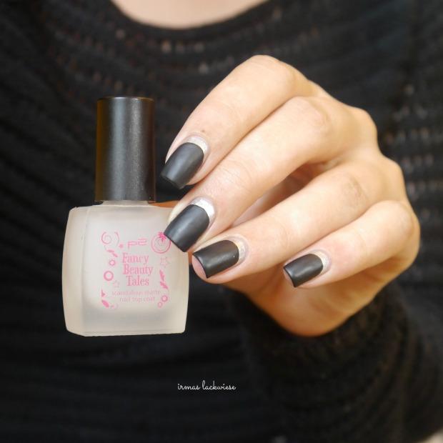 opi my silk tie + black & silver ruffian nails (11)