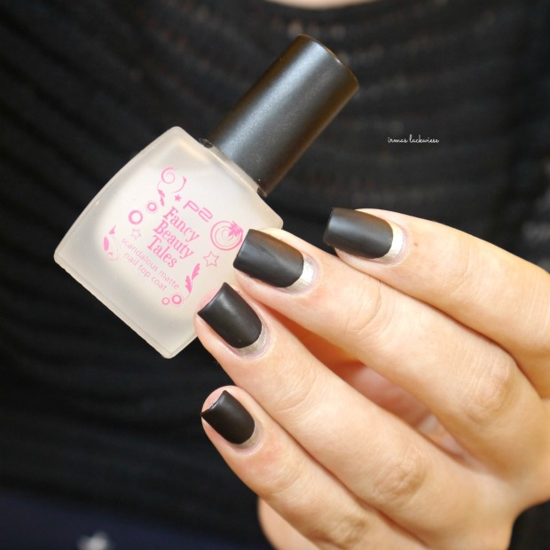 opi my silk tie + black & silver ruffian nails (9)