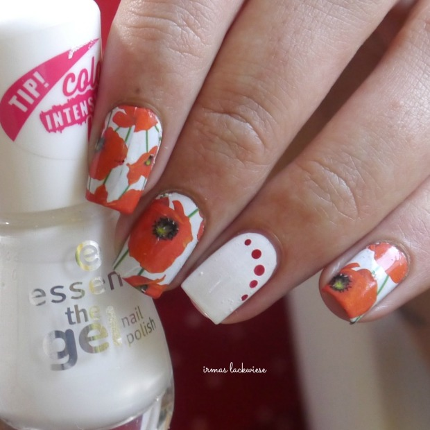 opi romantically involved + red poppy water decals (7)
