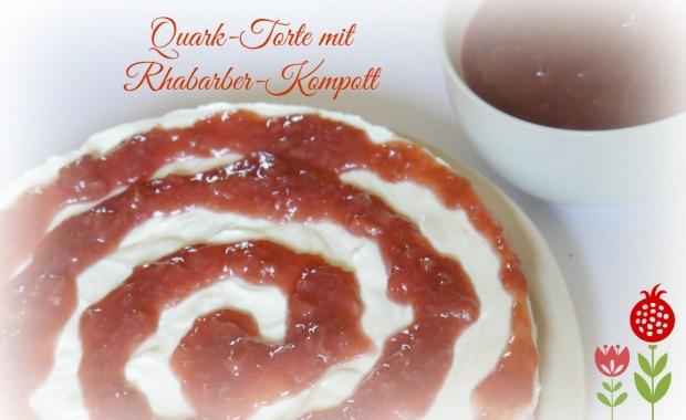 rhabarber quark kuchen