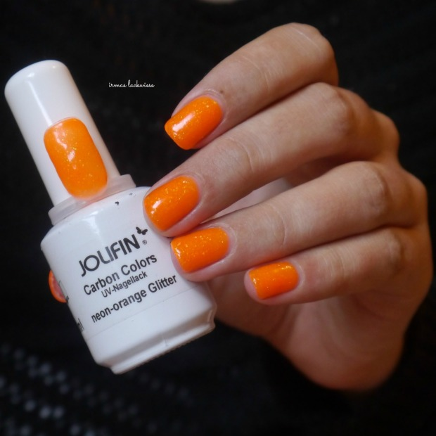 jolifin neon orange glitter (1)