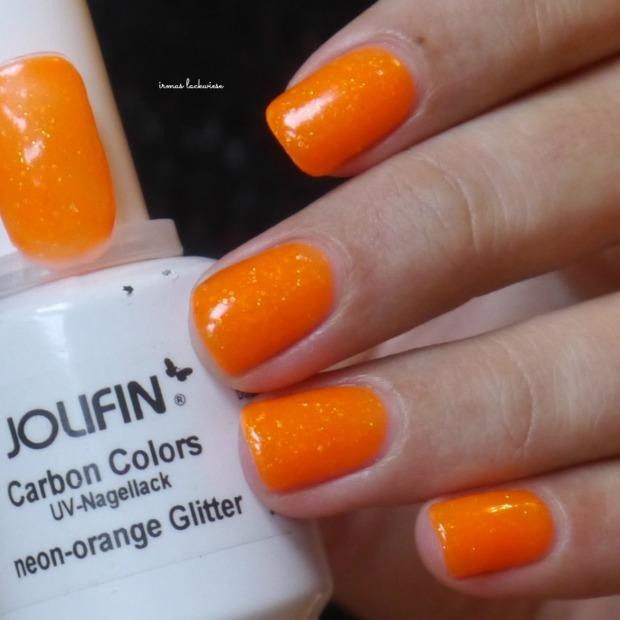 jolifin neon orange glitter (2)