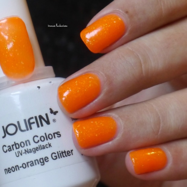 jolifin neon orange glitter (2)