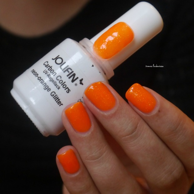 jolifin neon orange glitter (3)