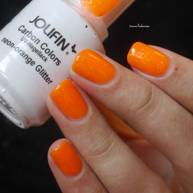 jolifin neon orange glitter (4)