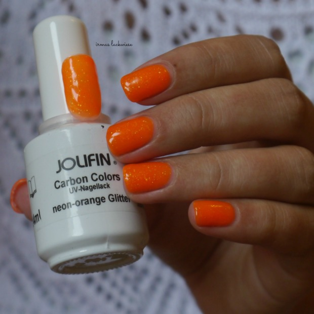 jolifin neon orange glitter (5)