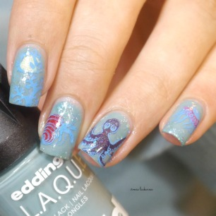 edding laque powder blue under water reverse stamping(9)