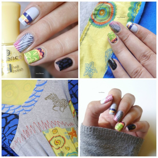 inspired by fashion nailart