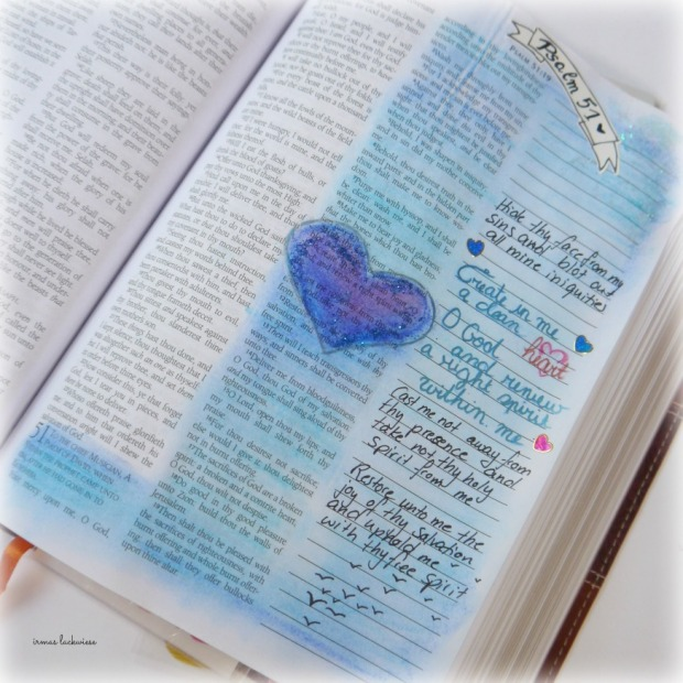 psalm 51 create in me a clean heart bible journaling (3)
