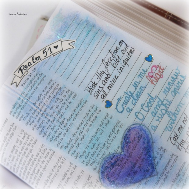 psalm 51 create in me a clean heart bible journaling (4)