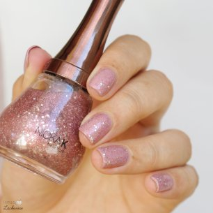 essence live, love, laugh! (6) + nicka k pink glitter