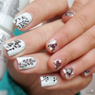 essence turn on the flights frostig florales nailart (5)