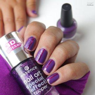 lila glitter nailart (4)